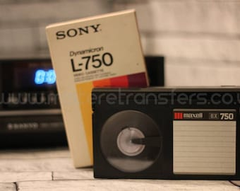 VHS Video Transfer to DVD