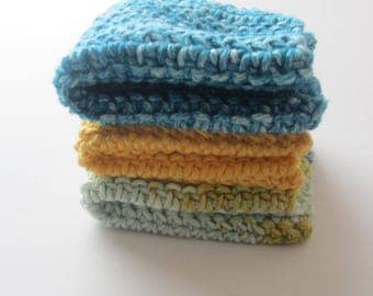 Cotton Washcloths Dishcloths-Ready to Ship-