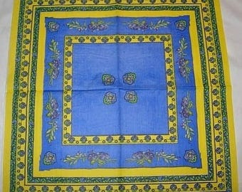 Paper provence 3 yellow and blue towel