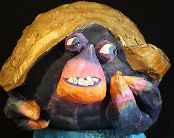 Tamatoa piñata inspired by Disney's Moana