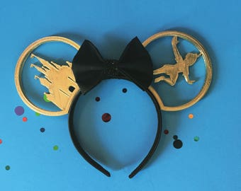 3D Printed Mickey Ears - Castle and Peter Pan (or Mickey)