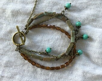 Aqua Terra Jasper Bracelet