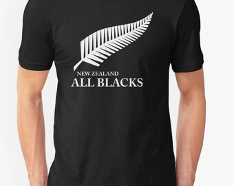 New Zealand All Blacks Men's Home t shirt tee top rugby 2015/16 world cup winner