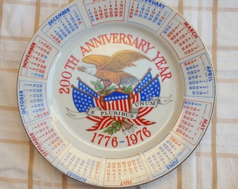 Bicentennial Commemorative Plate 1976