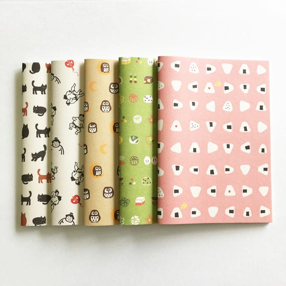 Japanese Notebook Paper Japanese notebo...