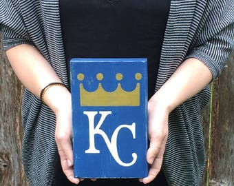 Royals, NFL, NBA, MLB, Custom Wood Sign, Fathers Day