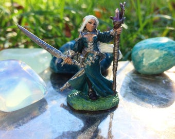 Lysette Female Elf- High Elf/ Moon Elf Wizard