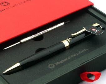 Free Engraving - Wagner Swiss, Roller Ballpen, Ballpoint pen, Ball pen, Refillable Pen, Free Customization