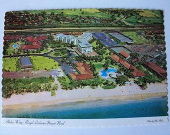 Royal Lahaina Resort Hotel , Maui, HI postcard (#B 54)