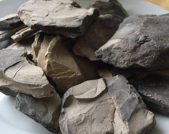 Indian Grey Roasted Clay Chunks