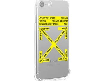 Off White Tape iPhone Case