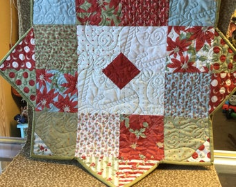 Handmade quilted christmas star!