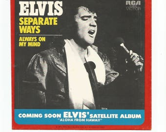 Elvis 45 RPM Record Sleeve  No Record