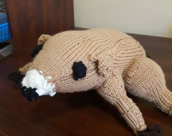 Canadian Hand Knit Beaver