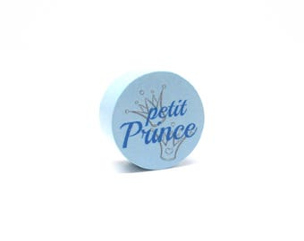 Pearl wood little Prince - soft blue