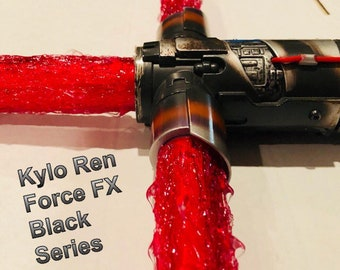 Ultimate Star Wars Red Flame Blade Lightsaber Covers for your Kylo Ren Force FX Black Series Lightsaber