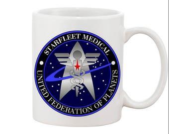 Star Trek StarFleet Medical Mug.