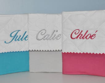 birth cover health embroidered custom colors available