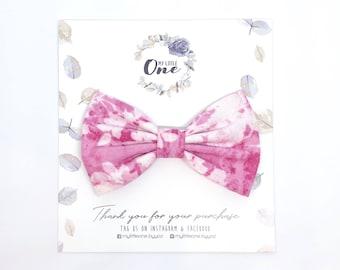 Fabric Bow Newborn Headband Toddler Headbands Nylon Headbands Floral Bow