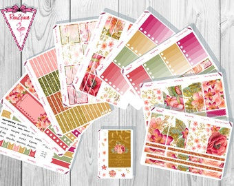 Autumn Flowers Weekly Kit - Happy Planner