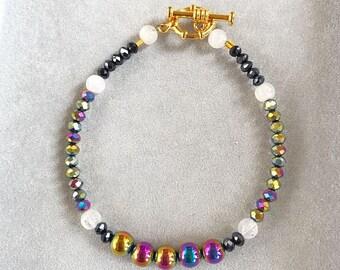 Wrist Ministry Pixie Collection Rainbow Dreams Beaded Bracelet