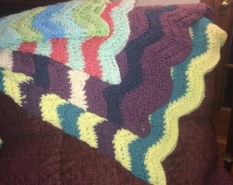 Hand-Crochet Baby Blankets