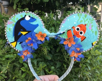 Finding Nemo - Finding Dory  - Disney Mouse Ears