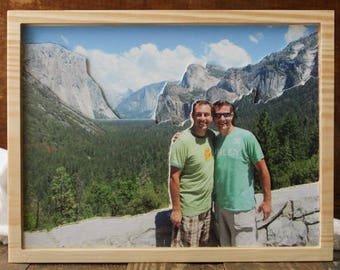 Custom Carved 3D Travel Photo
