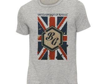 BG Heather grey T-shirt uk