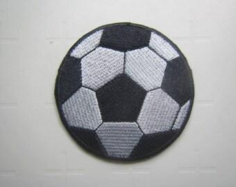 Soccer Ball  –  Football - Ball – Iron on Patch