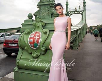 Budapest- Evening dress V-044