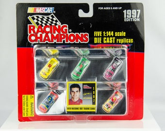 Racing Champions 1997 Edition 5 Car Set 1/144 Scale Diecast Nascar Jeff Gordon