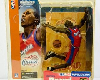 McFarlane's SportsPicks Series 2 Elton Brand Action Figure L.A. Clippers
