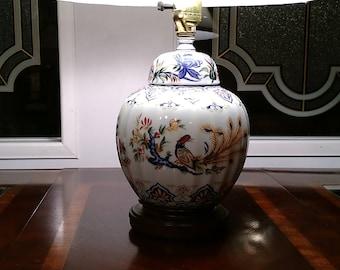 exotic chinese bird lamp