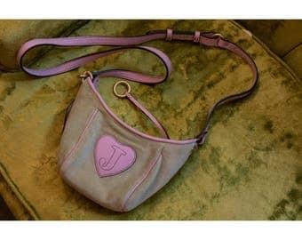 1990s Juicy Coutoure velvet crossbody purse