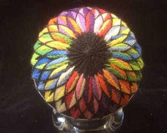 27 cm Rainbow Kiku Temari