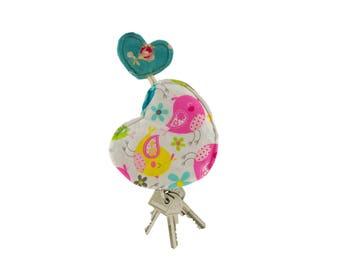 """Portallavero """"Corazon de Pollo"""" - Heart Key Pouch"""