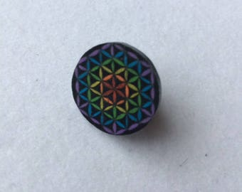 Flower of Life Pin