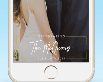 Wedding Snapchat Geofilter| Wedding Gift |Snapchat Filter|Custom Wedding Filter|Wedding Snap Chat Filter|Personalized|Gift| Save the Date
