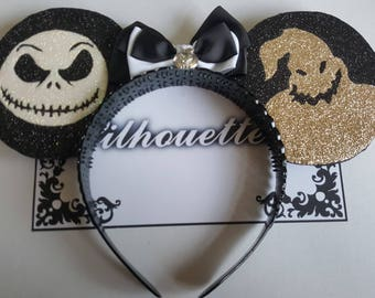 Disney Nightmare Before Christmas Inspired Souvenir Ears
