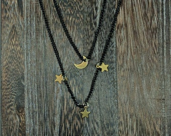 layered celestial necklace