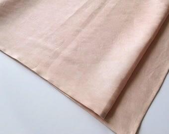 Hand dyed, Linen Table Runner
