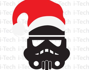 Star Wars Christmas SVG, Disney Storm Trooper Christmas, Christmas SVG, Cricut, Silhouette Cut Files svg, Dxf, Instant Download