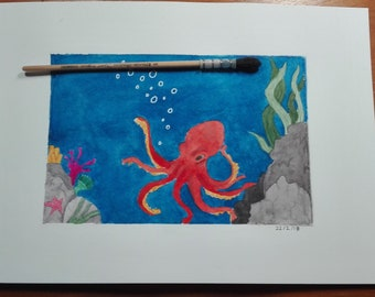 The Octopus - Aniaml Artists Collective - Charity