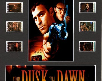 From Dusk Til Dawn replica Film Cell Presentation 10 x 8 Mounted 10 cells