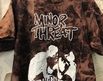 Minor threat straight edge tee