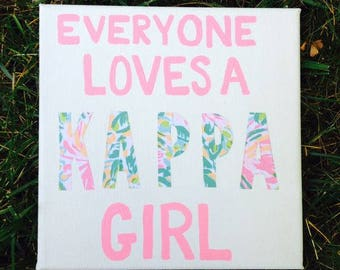 Lilly Pulitzer Canvas
