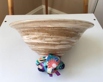 Mixed-Clay Ceramic Bowl
