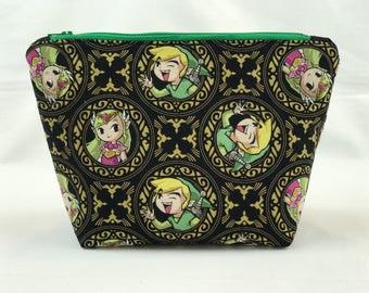 Zelda Inspired Makeup Bag