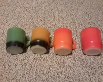 Fire king mugs